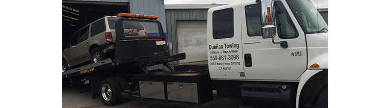 Towing | Duena's Towing | Fresno, CA | (559) 681-3098